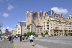 Atlantic City,August 4th:Casinos and Hotels from Atlantic City in New Jersey stock photos