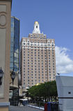 Atlantic City,August 4th:Hotel Building from Atlantic City resort in New Jersey royalty free stock photography