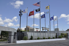 Atlantic City,August 4th:Korean War Memorial from Atlantic City in New Jersey stock photos