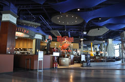 Atlantic City,August 4th:Modern Mall Interior from Atlantic City Resort in New Jersey stock photo