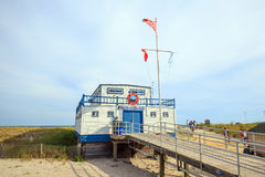 Free Atlantic City Beach Patrol Building Royalty Free Stock Photos - 61385168
