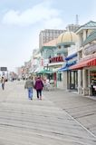 Atlantic City Boardwalk Royalty Free Stock Photos