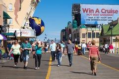 Atlantic City Boardwalk NJ Royalty Free Stock Photography
