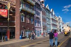 Atlantic City Boardwalk NJ Stock Image