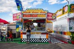 Atlantic City Boardwalk Stock Image