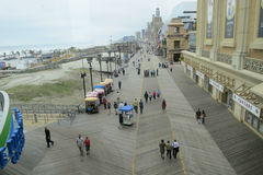 Atlantic City Boardwalk Royalty Free Stock Image