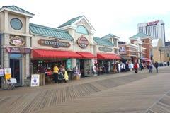 Atlantic City Boardwalk Royalty Free Stock Photos