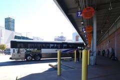 Atlantic City Bus Terminal Royalty Free Stock Photo