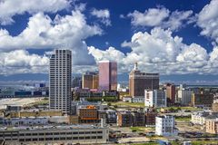 Atlantic City Cityscape Royalty Free Stock Image