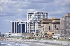 Atlantic City, el 4 de agosto: Horizonte del centro turístico de Atlantic City en New Jersey Imagenes de archivo