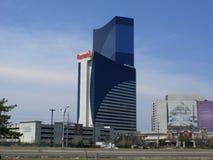 Atlantic City - hôtel et casino de Harrah Photos libres de droits