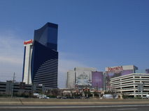 Atlantic City - Harrahs Hotel und Kasino Stockbilder