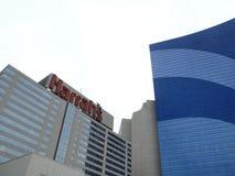 Atlantic City - Harrahs Hotel und Kasino Stockbild