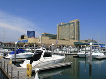 Atlantic City - hotel e casinò del porticciolo del briscola Fotografia Stock