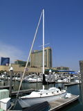 Atlantic City - marina Disrtict Image libre de droits