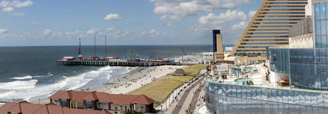 Atlantic City, New Jersey Fotografia Stock Libera da Diritti