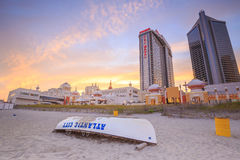 Atlantic City, New Jersey. Royalty Free Stock Image