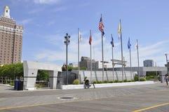 Atlantic City, New Jersey, le 3 juillet : Mémorial de Guerre de Corée dans la station de vacances d'Atlantic City du New Jersey E Photo libre de droits