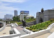 Atlantic City, New Jersey, le 3 juillet : Mémorial de Guerre de Corée dans la station de vacances d'Atlantic City du New Jersey E Photos libres de droits