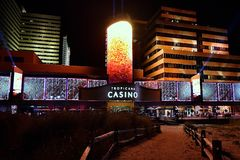 Atlantic City New Jersey, Tropicana-Casino, Stock Afbeelding