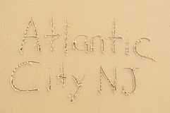 Atlantic City NJ Stock Afbeelding