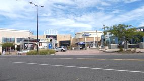Atlantic City Outlet. Tanger Outlets in Atlantic City, New Jersey stock video footage