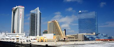 Atlantic City Panorama Stock Photo