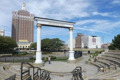 Atlantic City Park Royalty Free Stock Images