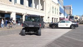 Atlantic City Polizei stock video