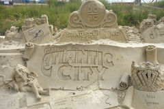 Atlantic City Sculpture Stock Photography