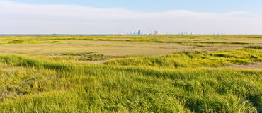 Atlantic City Skyline Panorama Stock Image