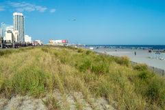 Atlantic City View Royalty Free Stock Image