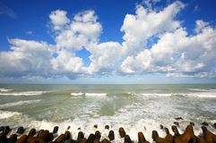 Atlantic Clouds Stock Photo