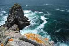 Atlantic coast. In the west coast of France Royalty Free Stock Photos