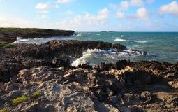 Atlantic coast. Cayo Guillermo. Cuba Royalty Free Stock Photos