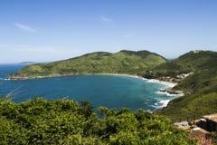 Atlantic coast in Brazil Stock Image