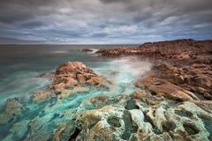 Atlantic coast in County Clare Stock Photo