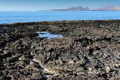 Atlantic coast, Lanzarote Island, Canary Islands, Spain Stock Photo