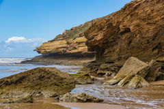 Atlantic coast, Morocco royalty free stock photo