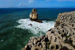 Atlantic coast, Peniche, Portugal Royalty Free Stock Photos