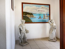 Atlantic Coast Picture, Cabo da Roca, Portugal Royalty Free Stock Photography