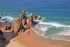 Atlantic coast of Portugal Stock Image