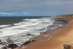 Atlantic coast at Portugal. Royalty Free Stock Image