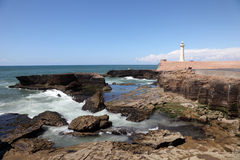 Atlantic coast of Rabat, Morocco Stock Photo