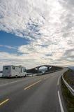 The Atlantic coast road Stock Images