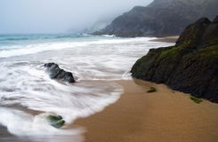 Atlantic coastline Stock Images