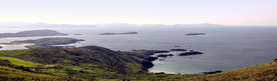 Atlantic coastline at County Kerry Stock Photos