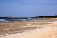 Atlantic coastline, La Paloma, Uruguay Stock Photography