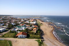 Atlantic coastline, La Paloma, Uruguay Stock Images