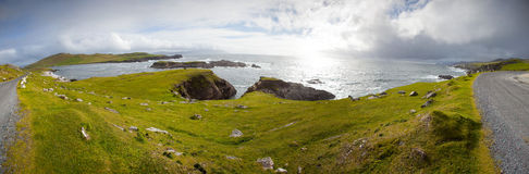 Atlantic Drive, Achill Island, Co Mayo, Ireland Royalty Free Stock Image
